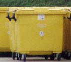 Containers de collecte de déchets médicaux